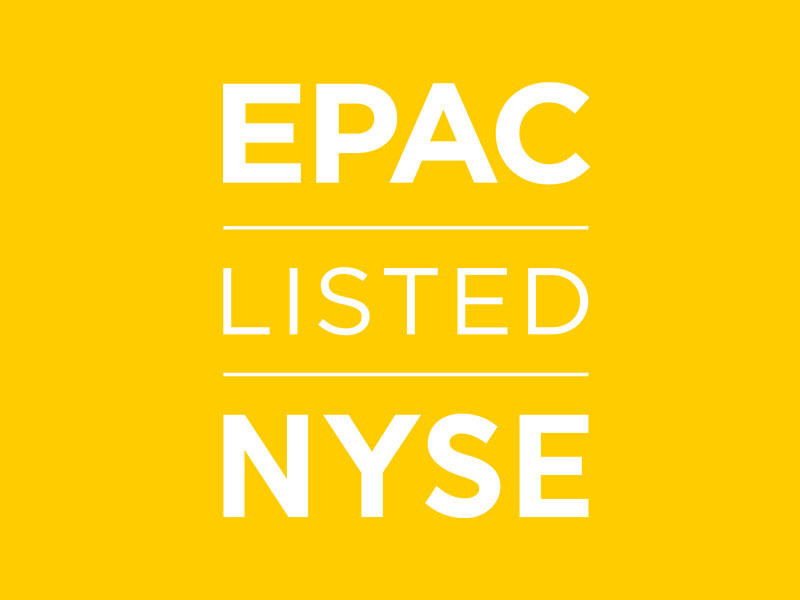 """EPAC"" officially becomes new ticker symbol"