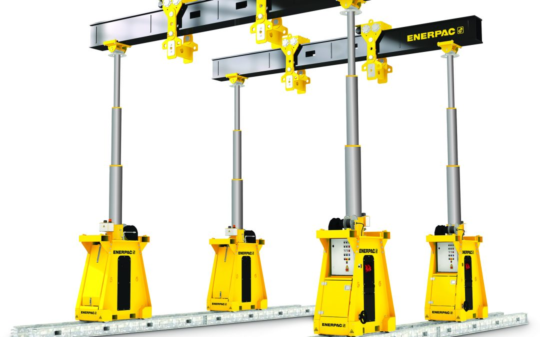 Lifting Heavy Loads Just Got Easier: Enerpac Introduces SL400N Super Lift Hydraulic Gantry