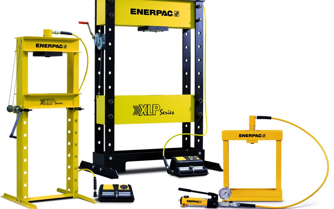 New Enerpac VLP and XLP Presses Offer Superior Performance