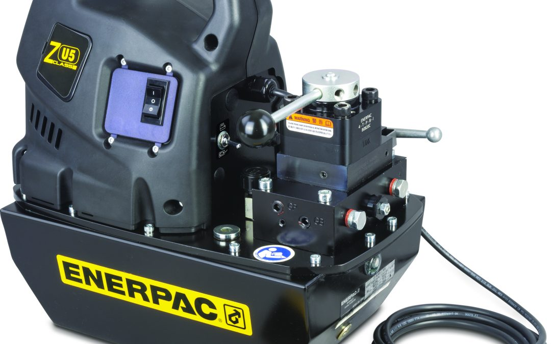 Tackle Concrete Applications 30% Faster with New Enerpac ZU5 Post Tensioning Pumps