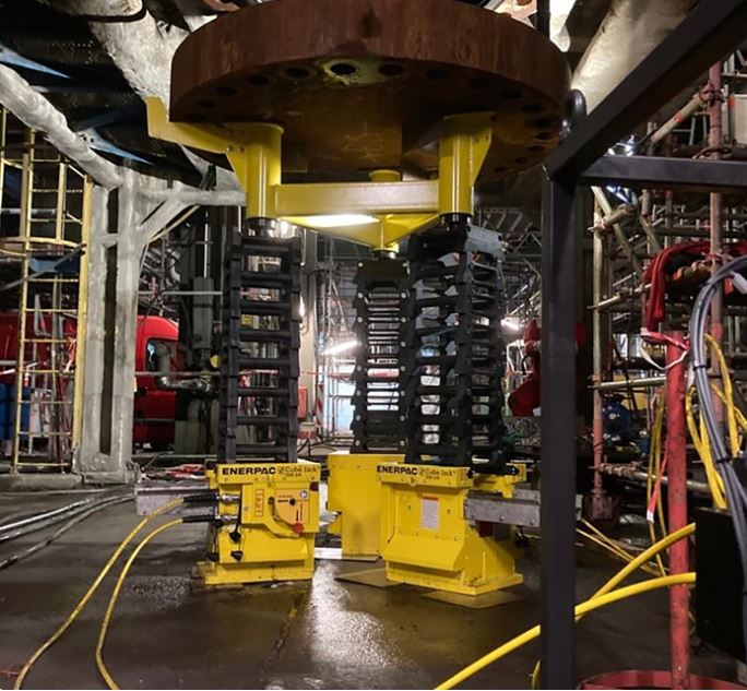 Hydratight takes heat out of Industrial Complex maintenance shutdown