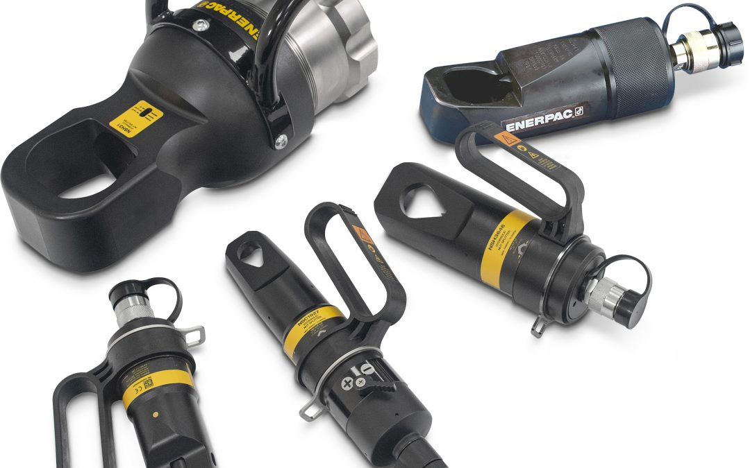 Enerpac Refreshes Nut Splitter Line with Emphasis on Efficiency, Durability and Ergonomic Design