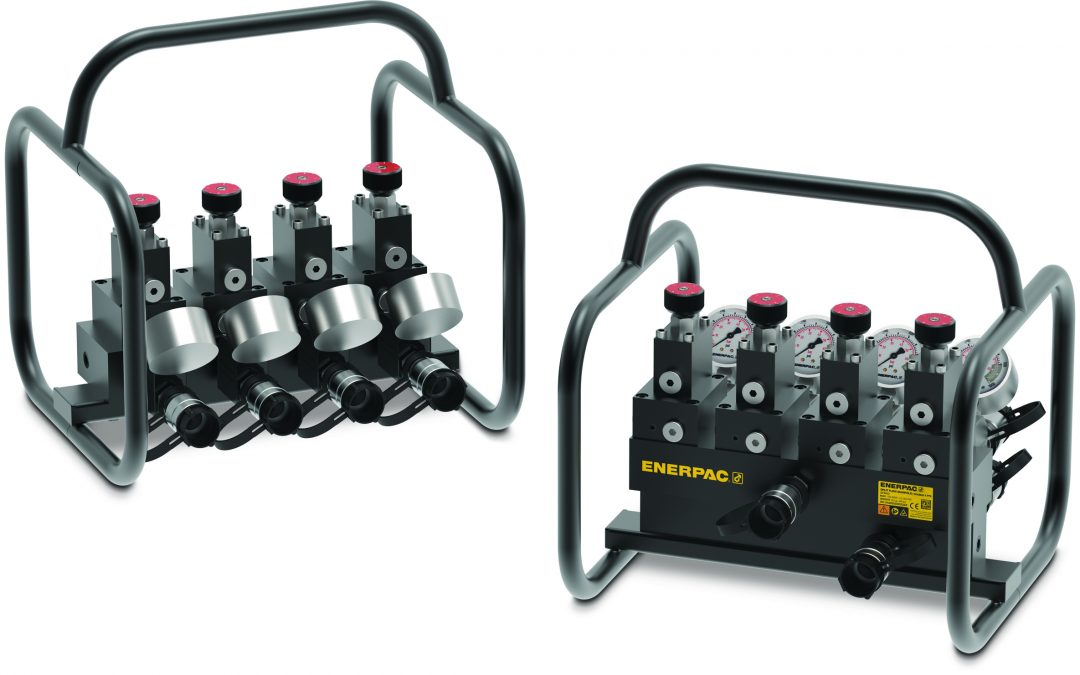 Enerpac Introduces SFM-Series Split-Flow Manifolds for Simultaneous Lifting Applications