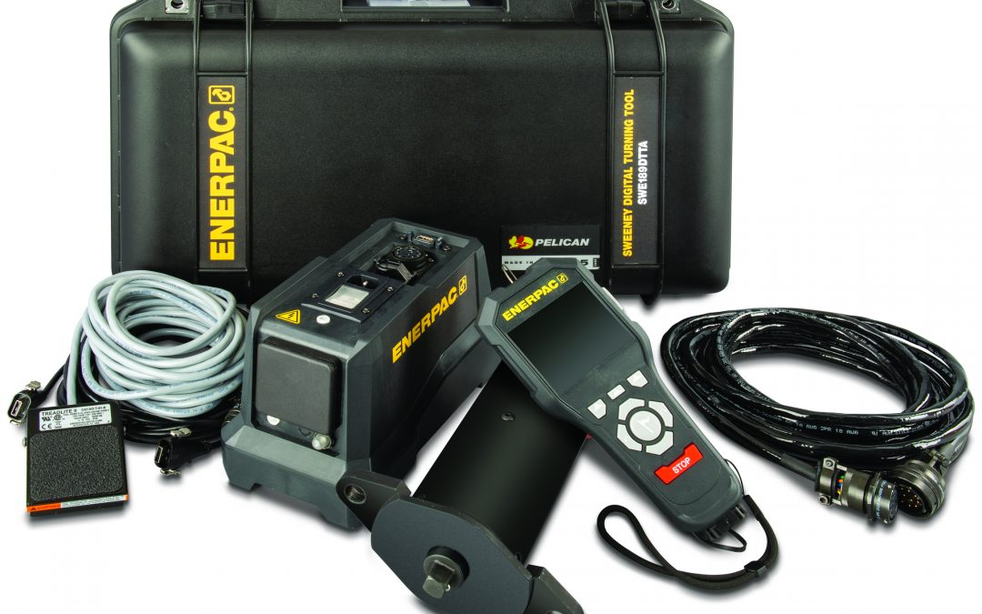 Enerpac Makes Turbine Borescope Inspections Simpler with New Sweeney Digital Turning Tool