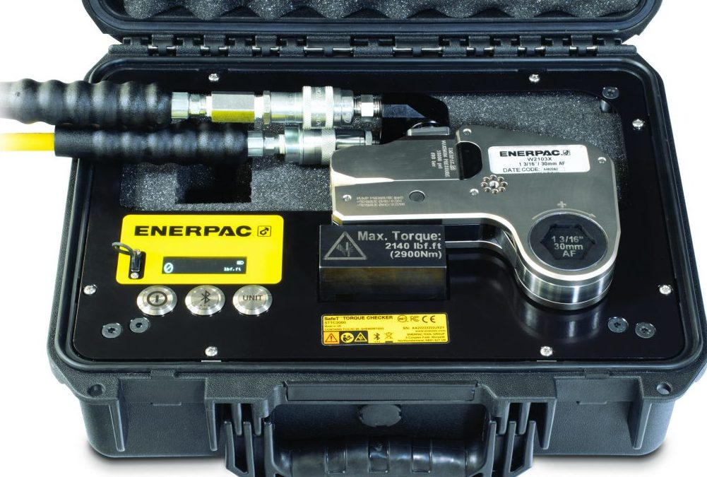 Enerpac Introduces Safe T™ Torque Checker For Simple & Accurate Measurement of Torque Output